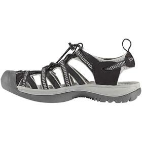 Keen Whisper sandaalit Naiset, black/neutral gray
